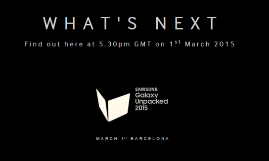 Samsung Galaxy Unpacked 2015  March 1st   Samsung UK